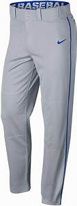 Grey Royal Large Nike Mens Swoosh Piped Dri Fit Baseball