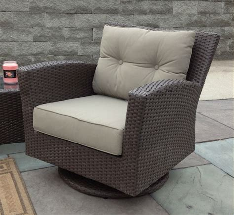outdoor wicker swivel chair sonoma