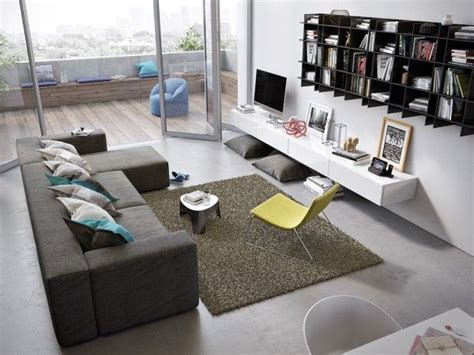 Awesomely Stylish Urban Living Rooms  Small Apartments