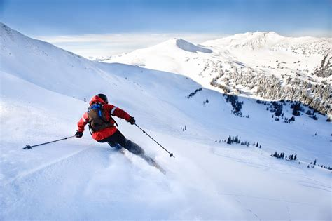 canada december weather skiing skier alan getty young