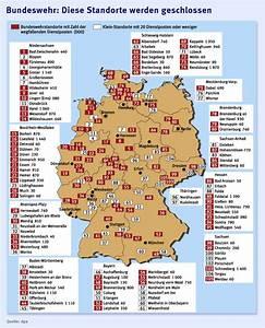 Standorte Der Bundeswehr : bundeswehr schmerzhaft aber nicht zu vermeiden inland faz ~ Watch28wear.com Haus und Dekorationen
