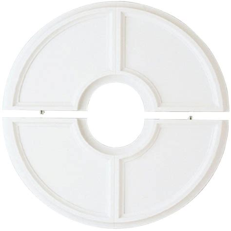 Split Ceiling Medallion Home Depot westinghouse 16 in split design white finish ceiling