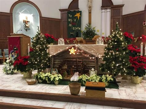 roman catholic church christmas decorations pictures of catholic church decorations psoriasisguru
