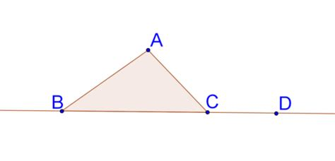 remote interior angles triangle relationships read geometry ck 12 foundation