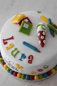 Torte Für Einschulung : einschulungstorte f r laura cuplovecake ~ Frokenaadalensverden.com Haus und Dekorationen