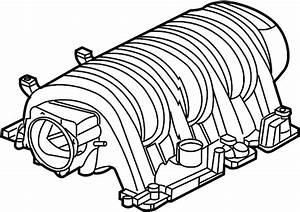 Dodge Durango Engine Intake Manifold  Liter  Grand  Fca