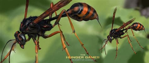 tracker jacker bees the hunger games tracker jacker design by nick pill creatures 3d cgsociety