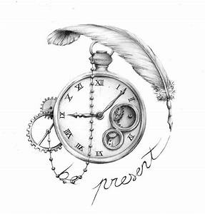 Tatouage Horloge Dessin : pingl par noble nature sur steampunk illustrations tatouage tatouage montre et tatouage ~ Melissatoandfro.com Idées de Décoration