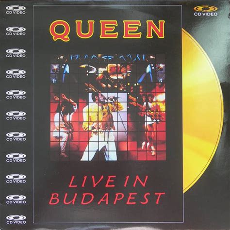 Queen Live In Budapest Vinyl Records and CDs For Sale ...