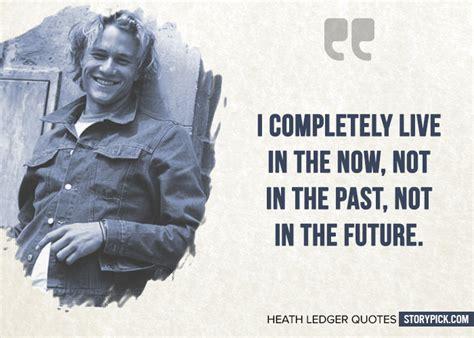 quotes  heath ledger  show  sheer dedication