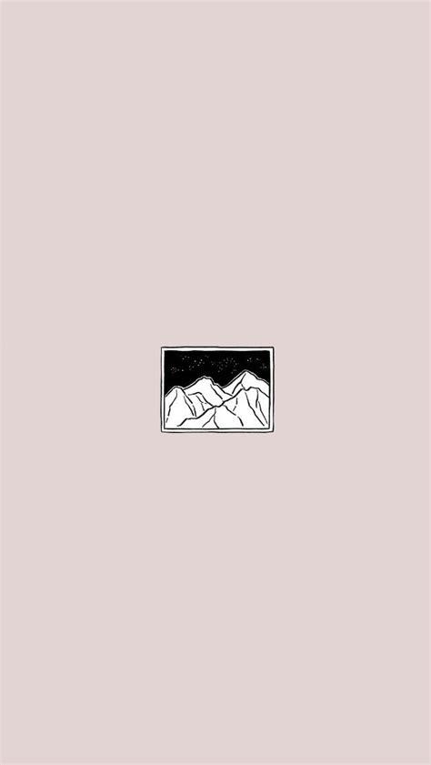 Aesthetic Lock Screen Wallpaper Minimalist by Minimalist Light Pink Landscape Inspired
