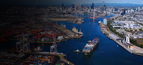Home Overlooking Melbournes Shipping Ports by Port Of Melbourne Australia S Best Connected Port