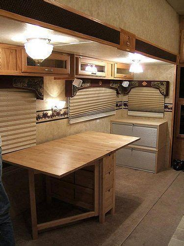 RV Office Conversion: Good Bye RV Dinette ? Jayco Eagle