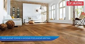 Podlahová krytina na podlahové topení