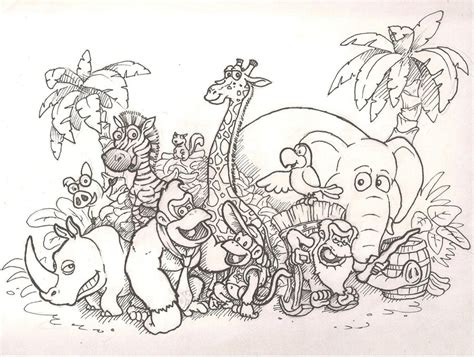 Donkey Kong Country Returns Colouring Pages