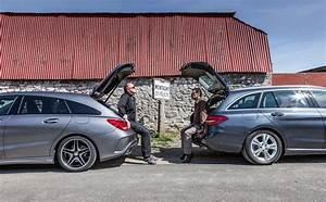 Mercedes Classe C Noir : essai comparatif mercedes cla shooting brake contre classe c break l 39 automobile magazine ~ Dallasstarsshop.com Idées de Décoration