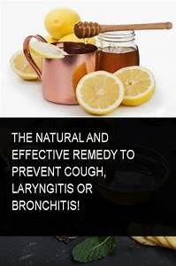 The Natural And Effective Remedy To Prevent Cough