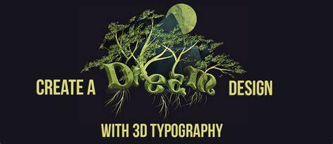 3d typography tutorial