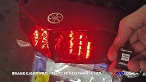 Feu Stop Moto : test du brake light pro de healtech modulateur de feu stop moto par tech2roo youtube ~ Melissatoandfro.com Idées de Décoration