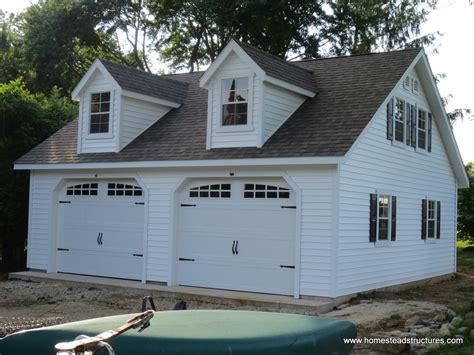 two car garage 2 car garage homestead structures