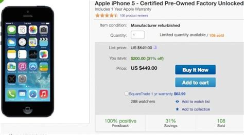 ebay refurbished iphone apple s refurbished iphone on ebay phonesreviews