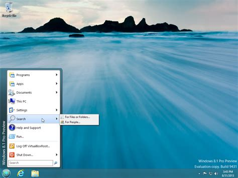 How To Return Start Button In Windows 8.1 Using Classic