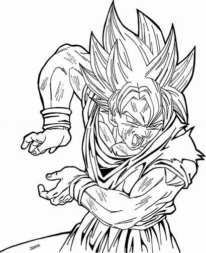 Goku Dibujos Colorear Imprimir
