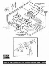 Club Car Golf Cart Solenoid Wiring Diagram