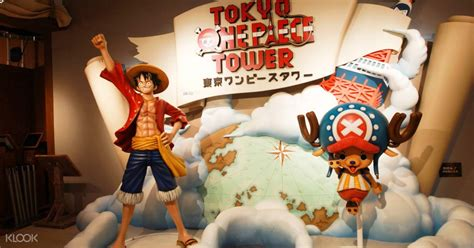 Tokyo One Piece Tower Admission Ticket Klook