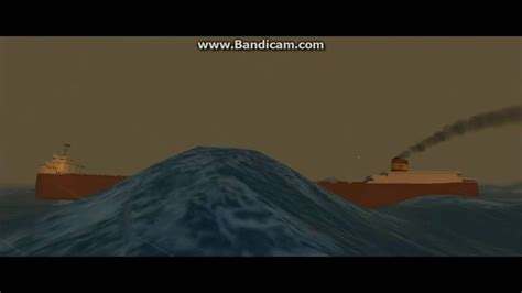 the sinking of the edmund fitzgerald in vehicle simulator