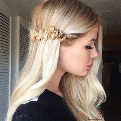 Braid Snake Blonde Hair Tutorial Amber Fillerup