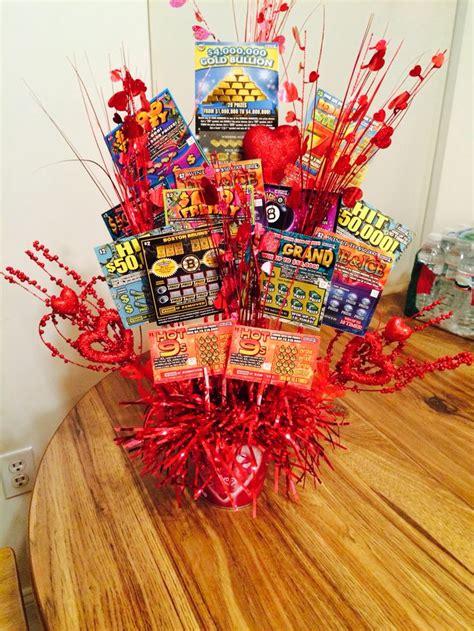 Lentines Day Sc Ch Ticket Bouquet For Boyfriend
