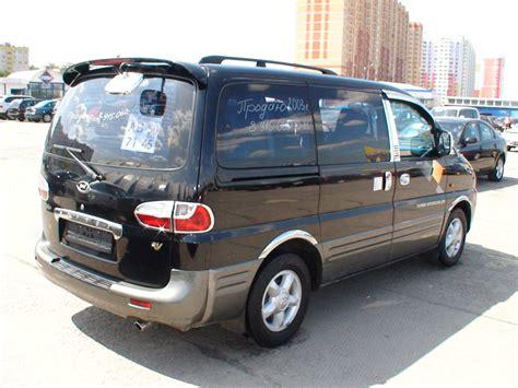 Hyundai Starex Photo by 2003 Hyundai Starex Photos 2 5 Diesel Fr Or Rr