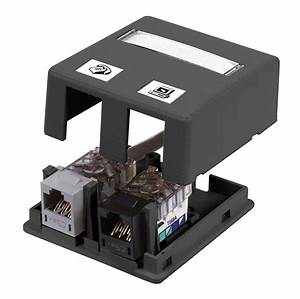 Hubbell Premise Wiring Isb2bk Surface Mount Boxes