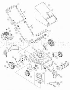 Yard Man 11a-439q755 Parts List And Diagram