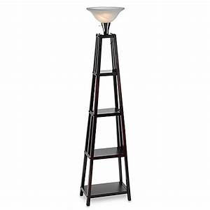 Etagere wood lamp bed bath beyond for Etagere floor lamp bed bath and beyond