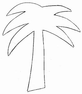 palm tree printable template clipart best With printable coconut tree template