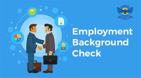 Free Employment Background Check Employment Background Verification Fourth