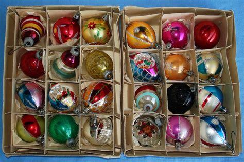 vintage fantasia paragon santa land glass christmas tree