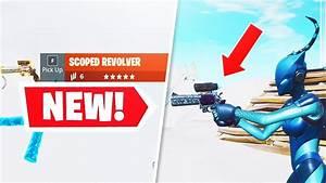 *NEW* Legendary Scoped Revolver Gameplay + 1v1 Battle ...