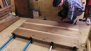 Building a Walnut Dining Table: The Hosey Workshop - YouTube
