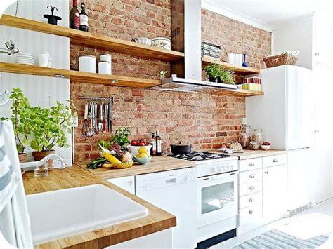 exposed brick kitchen 28 exposed brick wall kitchen design ideas home tweaks