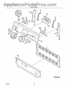 Frigidaire 316455400 Oven Control Board