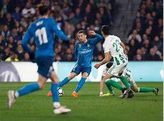 Betis 35 Real Madrid Breaking bad habits