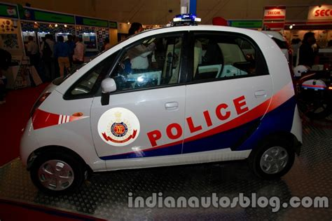 Tata Nano Is Now The World's Cheapest Police Car