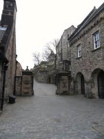 Inside Edinburgh Castle Scotland
