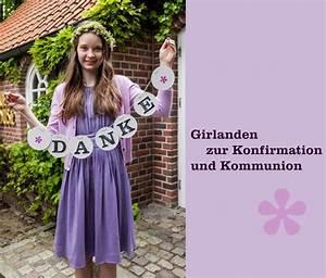 Deko Für Konfirmation : konfirmation kommunion deko girlande dekoration renna deluxe kommunion firmung ~ Eleganceandgraceweddings.com Haus und Dekorationen