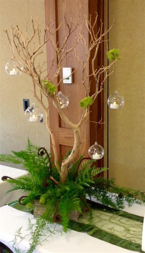ideas  enchanted forest centerpieces