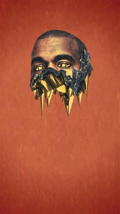 Kanye West Background Iphone Skull Sugar 808s