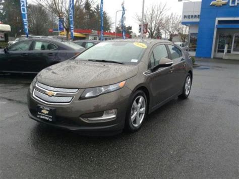Chevrolet Volt 2014 Seattle With Pictures  Mitula Cars